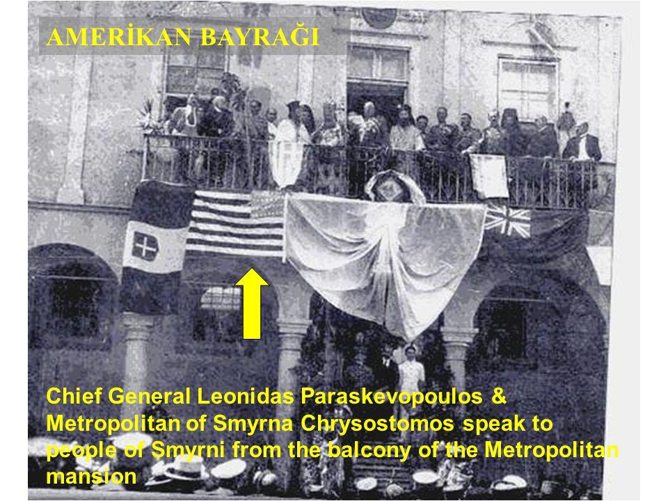 Fotoğrafları sizlerle paylaşma nedenim ise ; Lütfen balkona asılmış olan bayraklara dikkatle bakiniz. İtalyan,İngiliz,Yunan bayraklarının yanında,