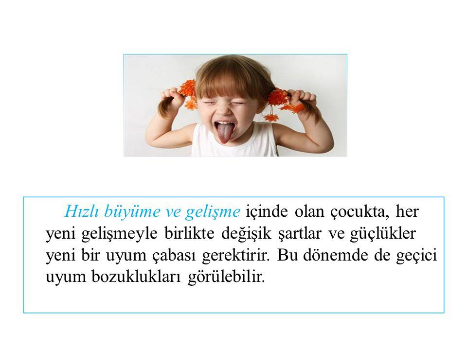 4.İNATÇILIK  İnatçılık, çocuğun gelişiminin bazı dönemlerinde ortaya çıkan bir özelliktir.
