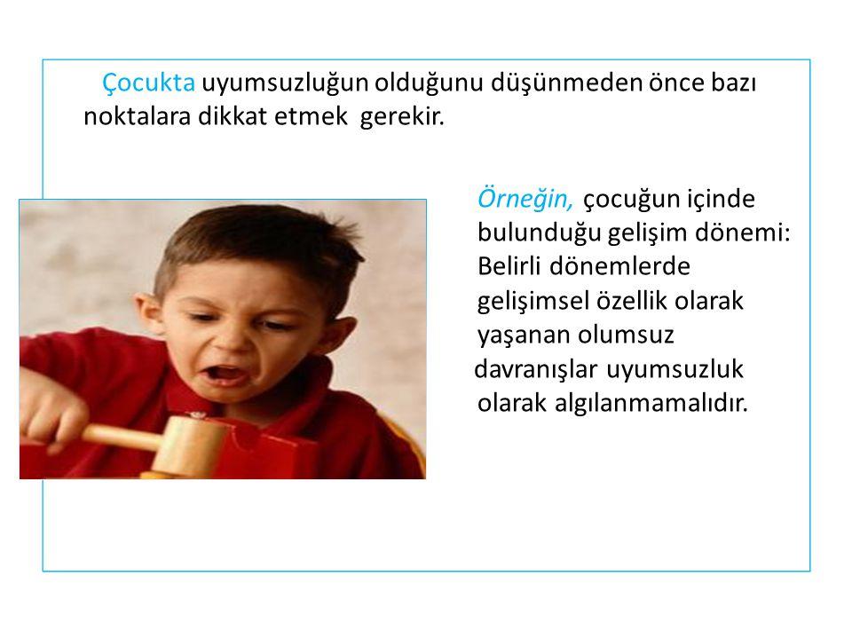 Örneğin, 2-4 yaş arası inatçılık genel olarak çocuklarda görülen gelişimsel bir özelliktir.