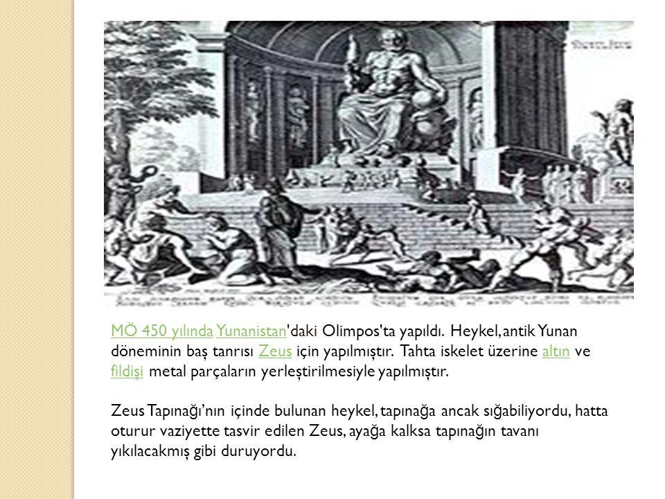 MÖ 450 yılındaMÖ 450 yılında Yunanistan daki Olimpos ta yapıldı.