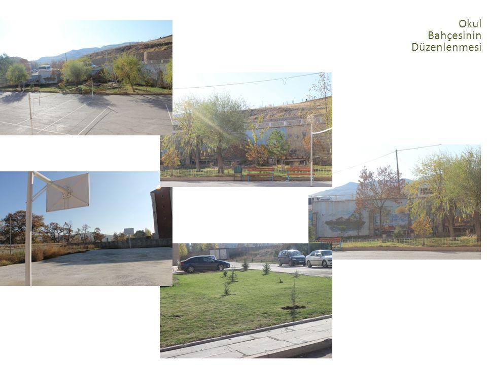 Okul Bahçesinin Düzenlenmesi