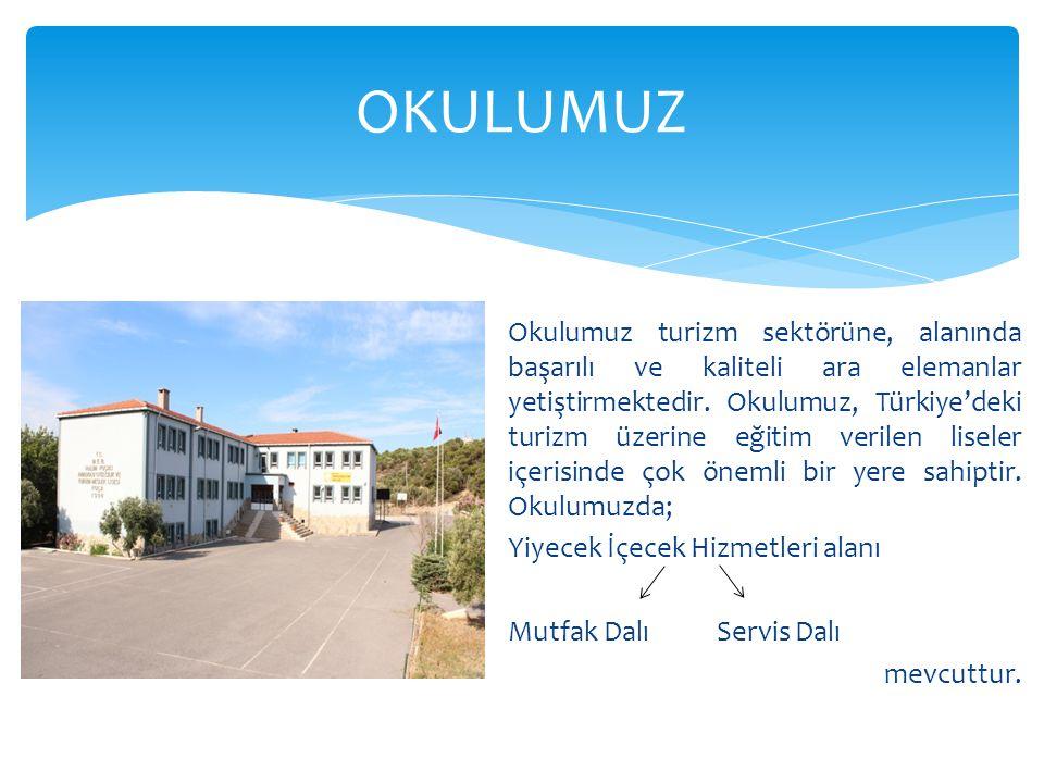 Okulumuz turizm sektörüne, alanında başarılı ve kaliteli ara elemanlar yetiştirmektedir. Okulumuz, Türkiye'deki turizm üzerine eğitim verilen liseler