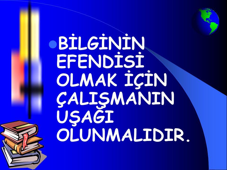 HANGİ DERSE NASIL ÇALIŞALIM? Mehmet Kahriman