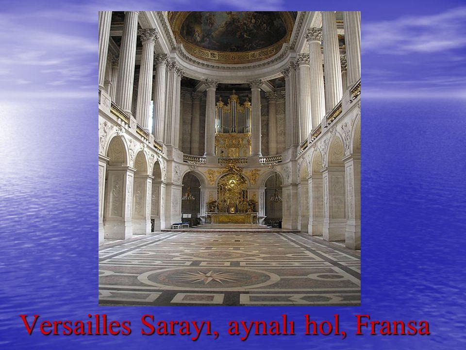 Versailles Sarayı, aynalı hol, Fransa Versailles Sarayı, aynalı hol, Fransa