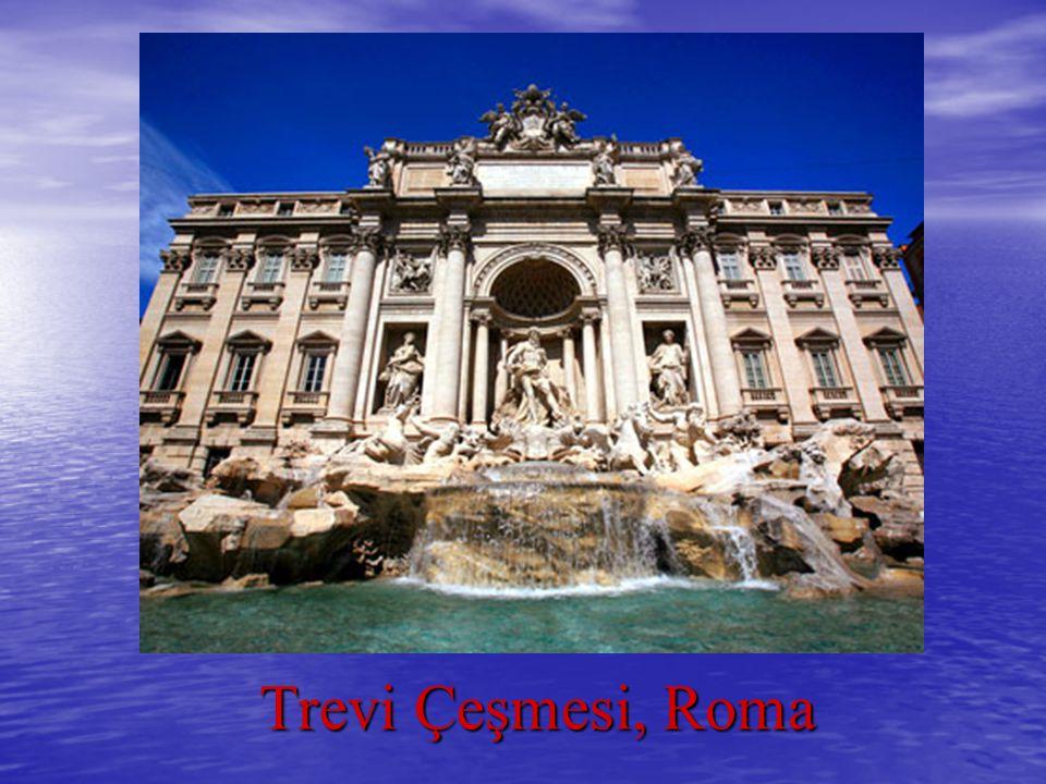Trevi Çeşmesi, Roma Trevi Çeşmesi, Roma