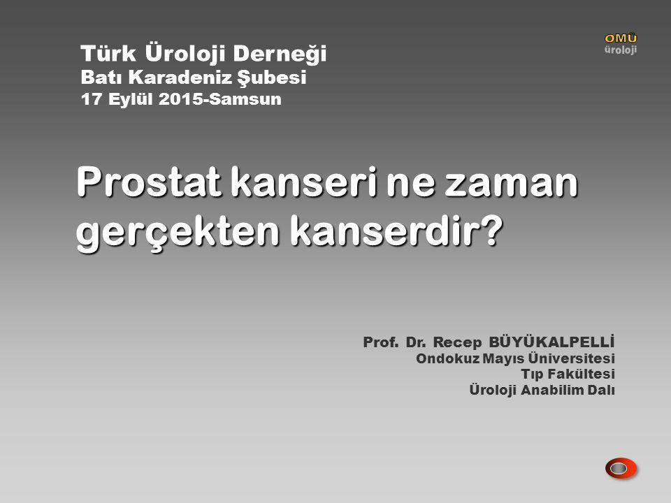 Prostate Cancer N Eng J Med 2012;367:203 Ortalama 10 yıllık takip süresince RP yapılanların % 47 si, gözlem uygulananların % 49.9 u prostat kanserine bağlı yaşamlarını yitirmişlerdir..