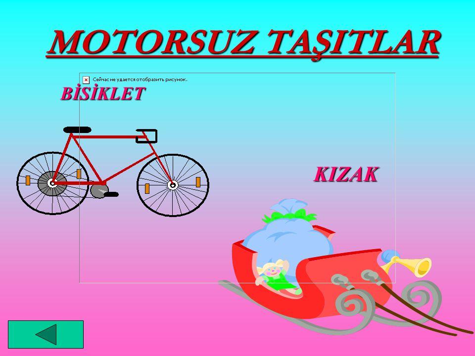 MOTORSUZ TAŞITLAR KIZAK BİSİKLET