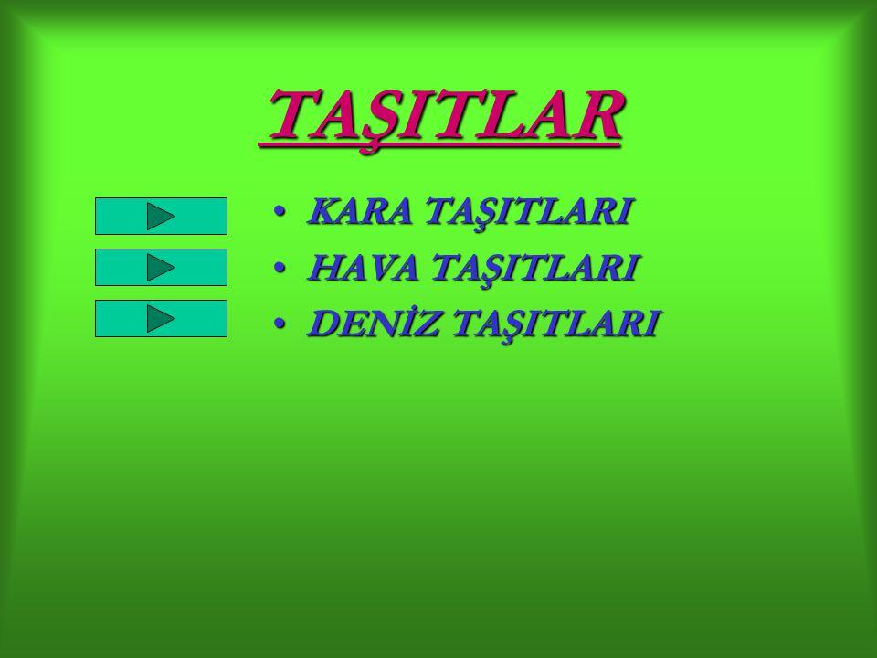 KARA TAŞITLARI