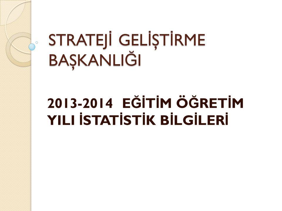 2013-2014 e ğ itim ve ö ğ retim yılı e ğ itim istatistikleri, MEBB İ S kapsamında ME İ S Modülü, e-Yaygın Modülü ve e-Okul Yönetim Bilgi Sistemi kullanılarak derlenecektir.