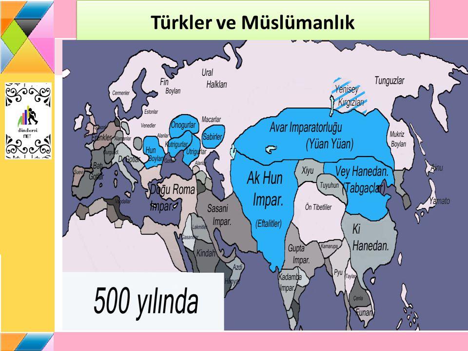 Türklerin Müslüman Olmasına Etki Eden Faktörler İslam dinin sahip olduğu hoşgörü ve sosyal anlayışı İslamiyet'in Türklerin mizacına uygun olması Türklerin inançları ile İslamiyet'in birbirine yakın esaslar içermesidir