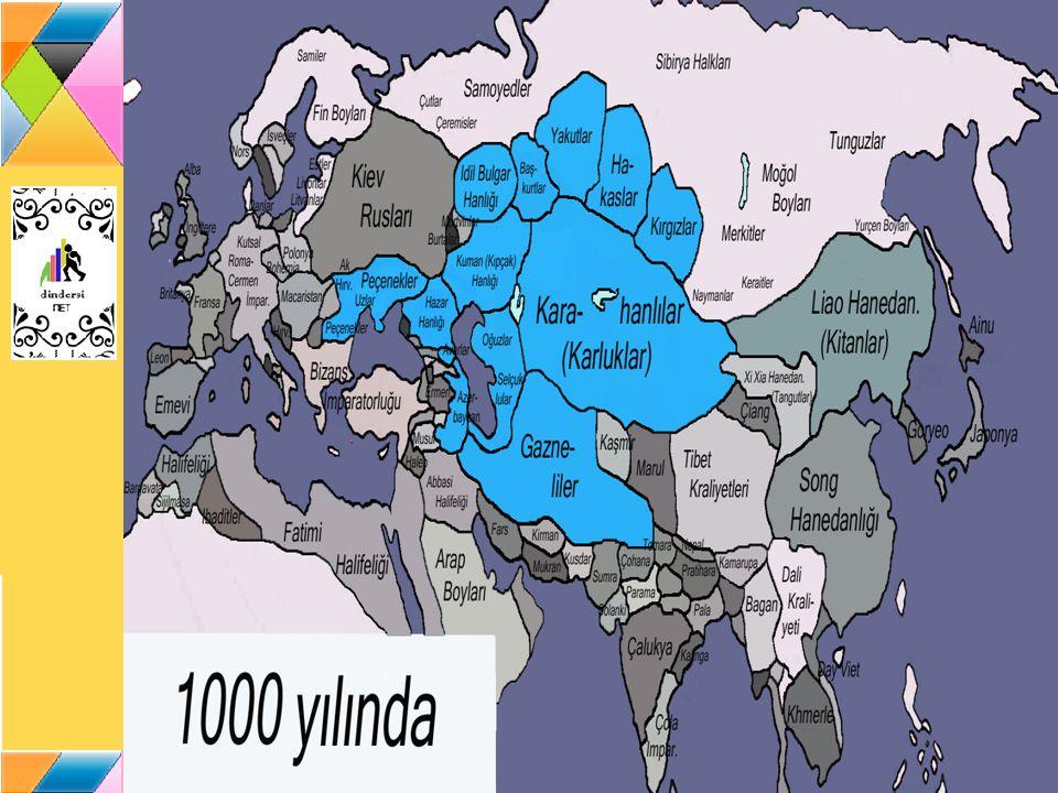 Türklerin Müslüman Oluşu 750 yılında Emevi Devleti ne son veren Abbasiler, bir yıl sonra Çinliler le Talas Savaşı nı yaptılar (751).