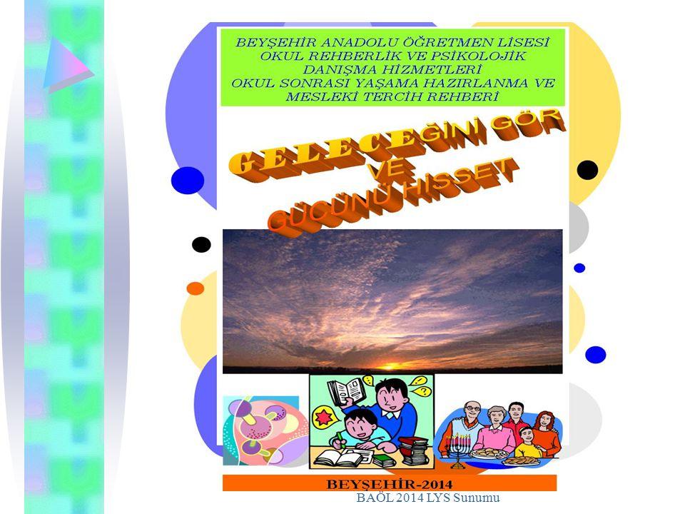 BAÖL 2014 LYS Sunumu
