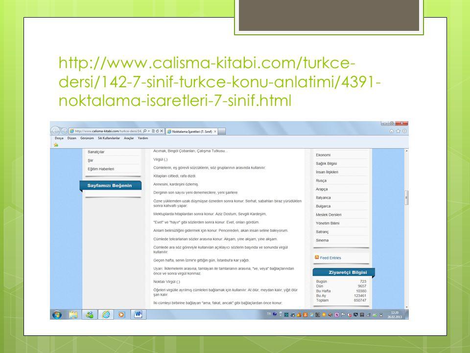http://www.calisma-kitabi.com/turkce- dersi/142-7-sinif-turkce-konu-anlatimi/4391- noktalama-isaretleri-7-sinif.html