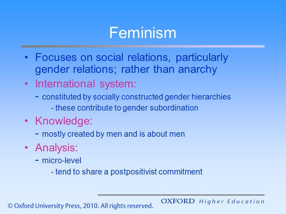 application of the social construction approach to gender relations The theory of social construction  humans learn society's beliefs from birth, and as a result, they are participants in the social construction theory.