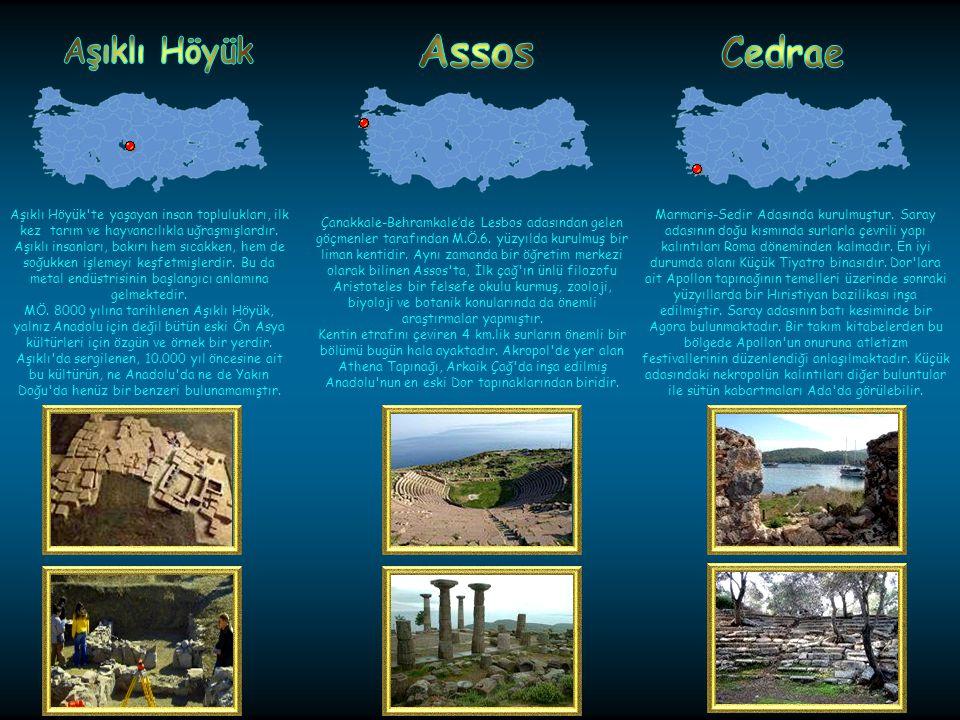 Hitit güneş tanrıçasının en önemli kült merkezi Arinna kentiydi.