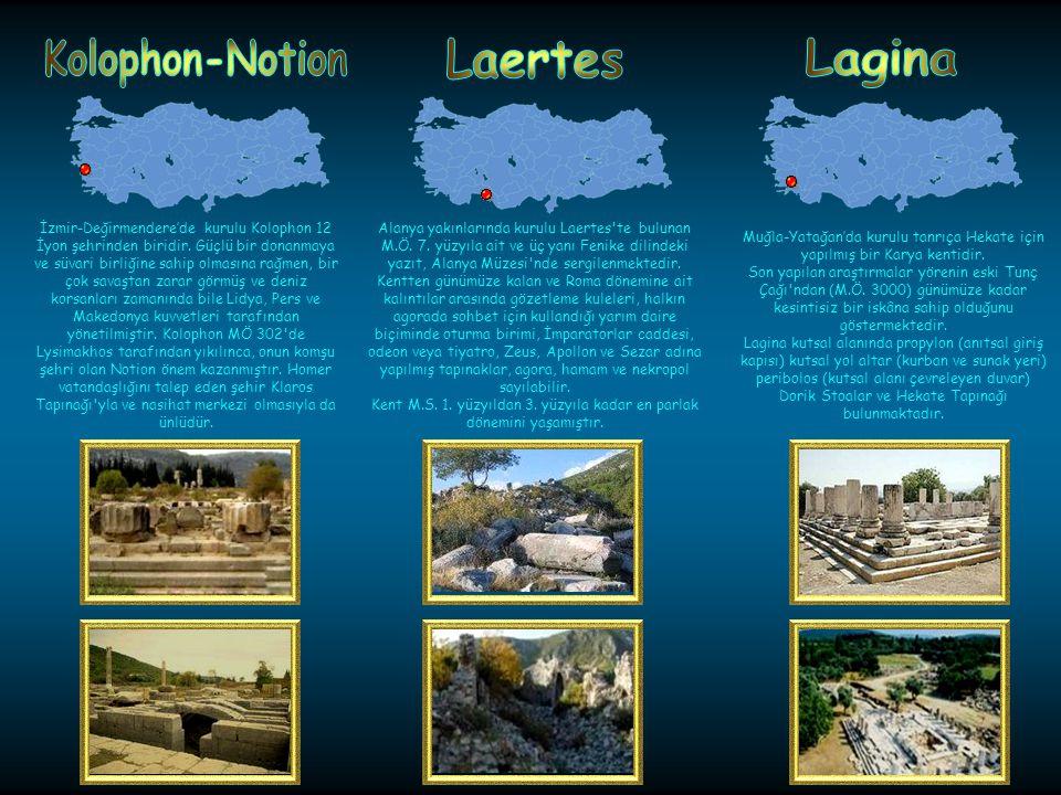 Fethiye-Kınıkta kurulu bir antik kenttir. Antik Çağda Likya'ya başkentlik yapmıştır. Kentte ele geçen en eski kalıntılar M.Ö. 8. yüzyıla kadar gitmekt