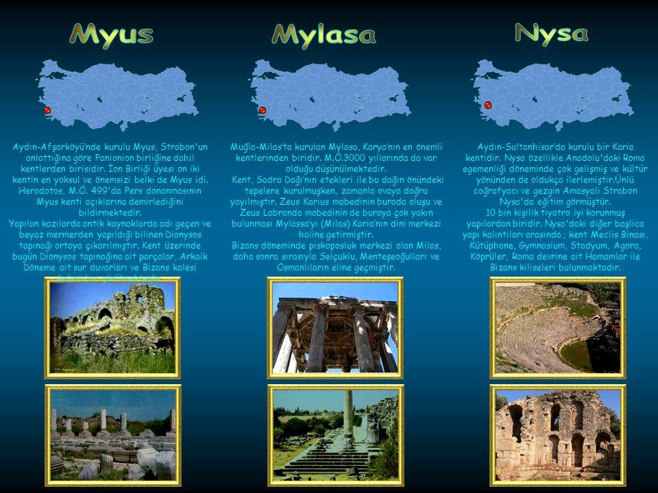 Myra, Antalya-Demrede bulunan antik Likya kentidir. Antik kaynakların M.Ö. I. yüzyıldan itibaren Myra'dan bahsetmelerine rağmen, kaya mezarlarından ve