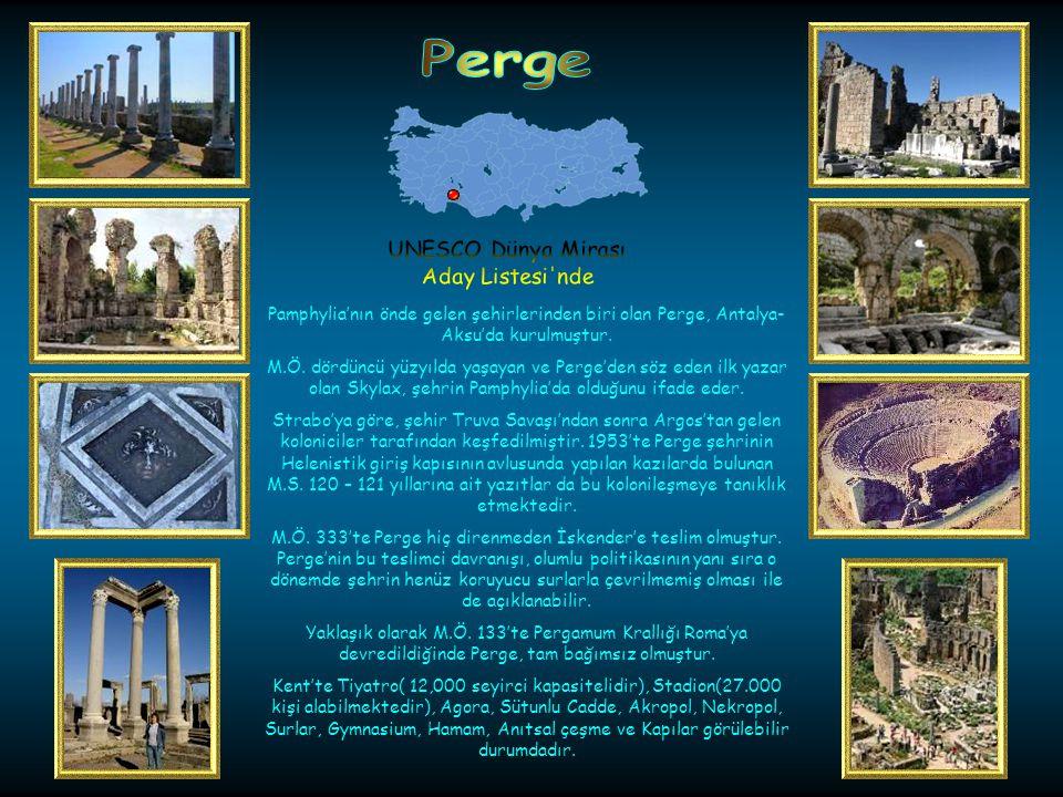 Olympos Hellenistik Devir de Antalya- Ulupınarda kurulmuştur.
