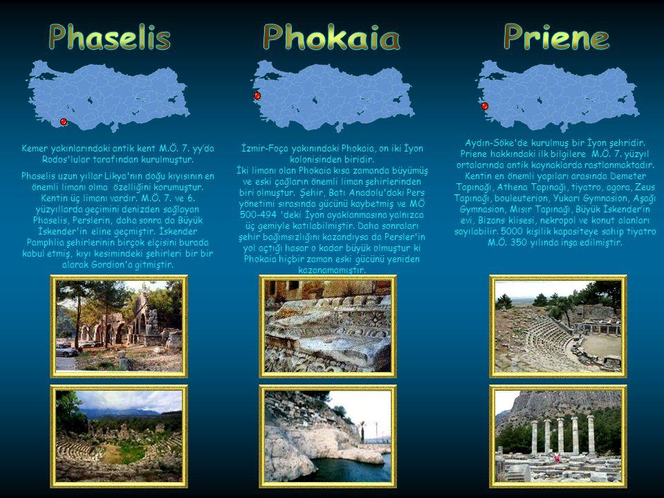 Pamphylianın önde gelen şehirlerinden biri olan Perge, Antalya- Aksuda kurulmuştur.