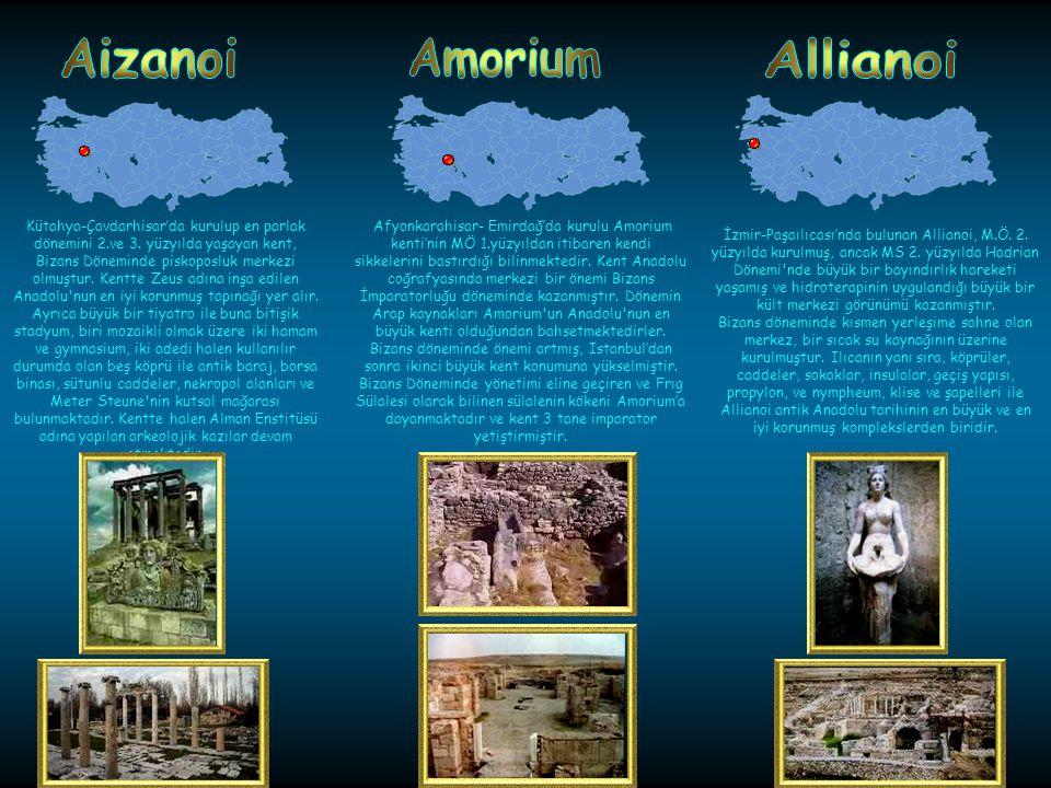 Alabanda antik kenti Aydın-Çinede kurulmuş bir Karya kentidir.