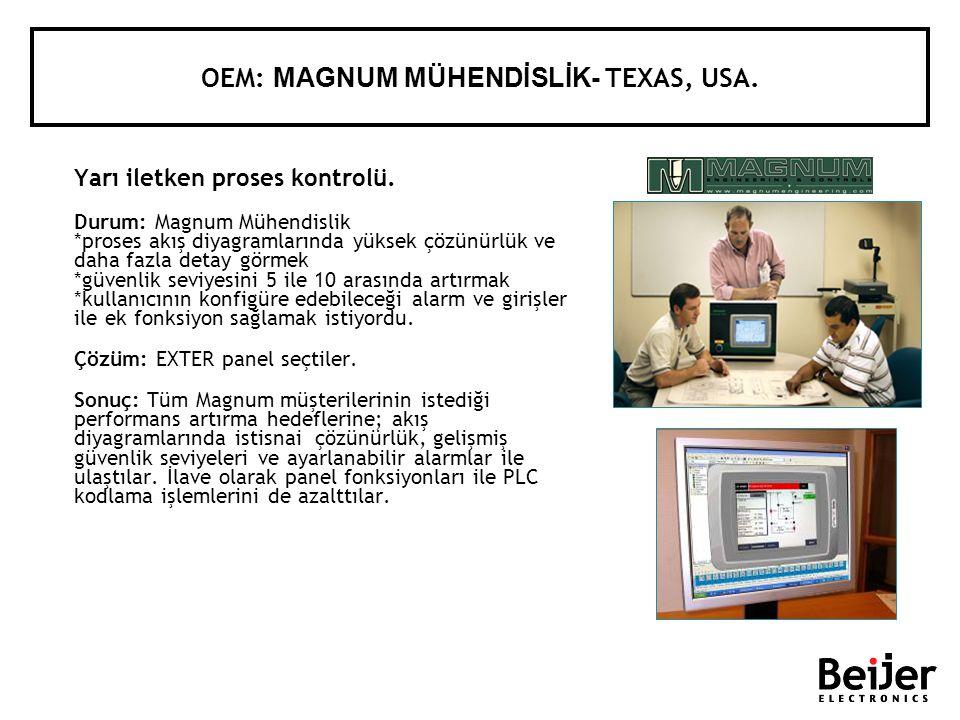 Yarı iletken proses kontrolü. Durum: Magnum Mühendislik *proses akış diyagramlarında yüksek çözünürlük ve daha fazla detay görmek *güvenlik seviyesini