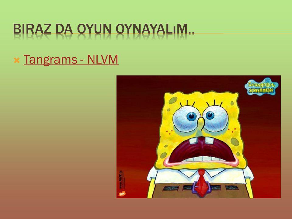  Tangrams - NLVM Tangrams - NLVM