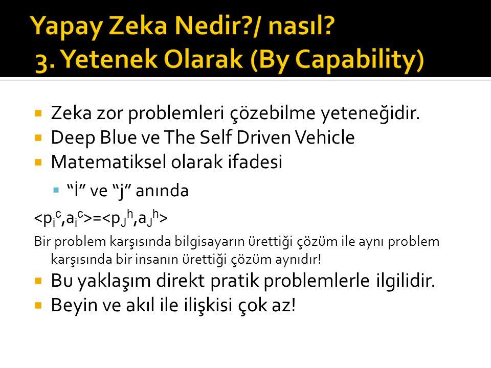  Zeka zor problemleri çözebilme yeteneğidir.