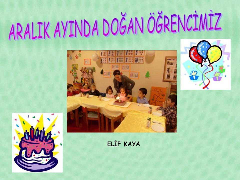 ELİF KAYA