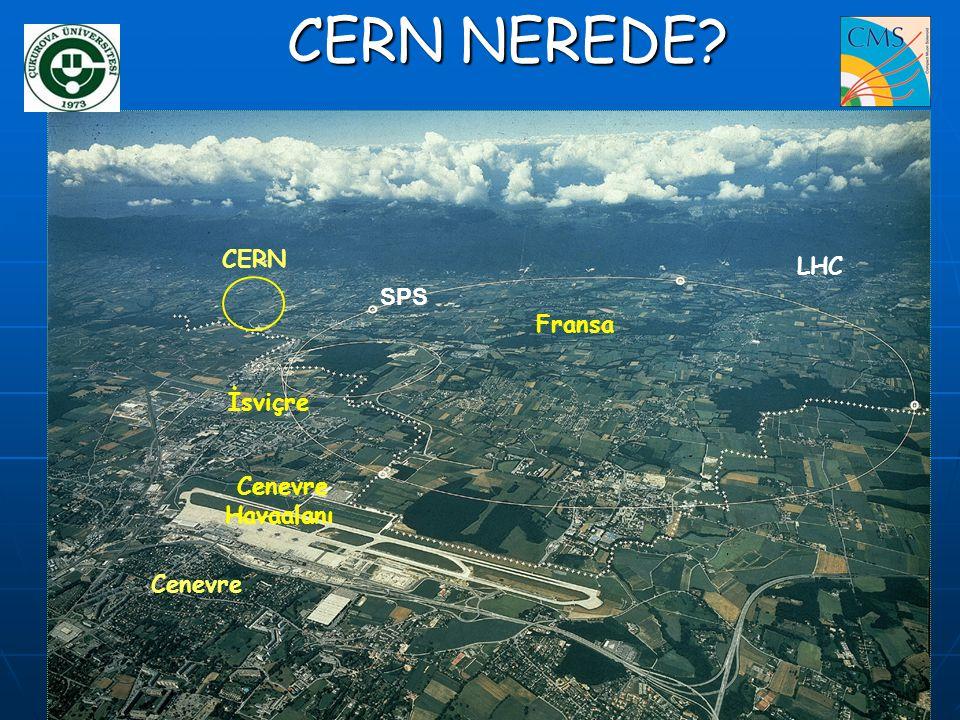 CERN Fransa İsviçre Cenevre LHC SPS Cenevre Havaalanı CERN NEREDE?