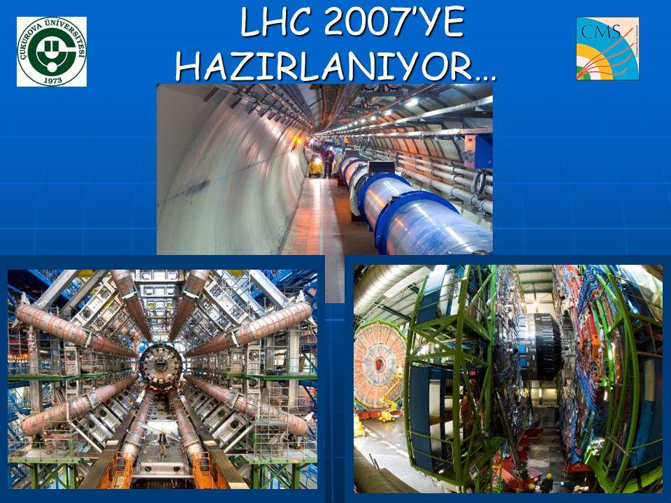 LHC 2007'YE HAZIRLANIYOR… LHC 2007'YE HAZIRLANIYOR…