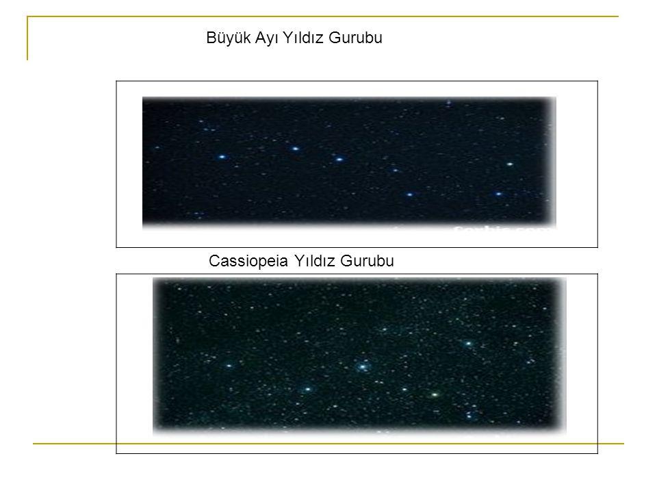 Büyük Ayı Yıldız Gurubu Cassiopeia Yıldız Gurubu