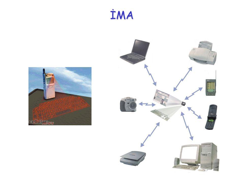 Bellek Teknolojileri DVD/Hard Disk Mini Disk 10* GB Mertebeleri 1cm çapta disk >1GB Veri Depolama Şebekede/Terminalde