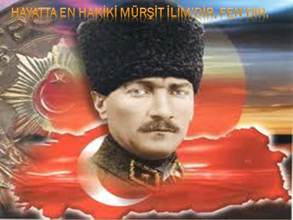 Medeniyet tarikatı Türkiye, şeyhler, dervişler ülkesi olamaz.