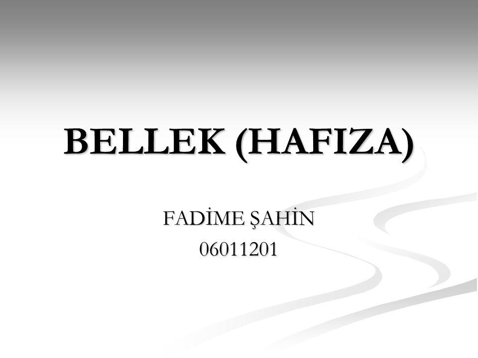 BELLEK (HAFIZA) FADİME ŞAHİN 06011201