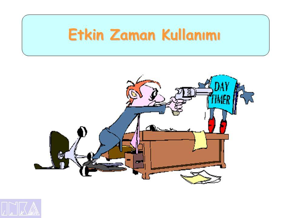 Zaman Konusunda İlginç Bir Araştırma •Türkiye' de Ortalama 70 Yıl Yaşayan Biri •Uyku 23 yıl •Çalışma 19 yıl •Eğlence9 yıl •İbadet 1 yıl •Beslenme6 yıl •Ulaşım6 yıl •Hastalık4 yıl •Tuvalet2 yıl