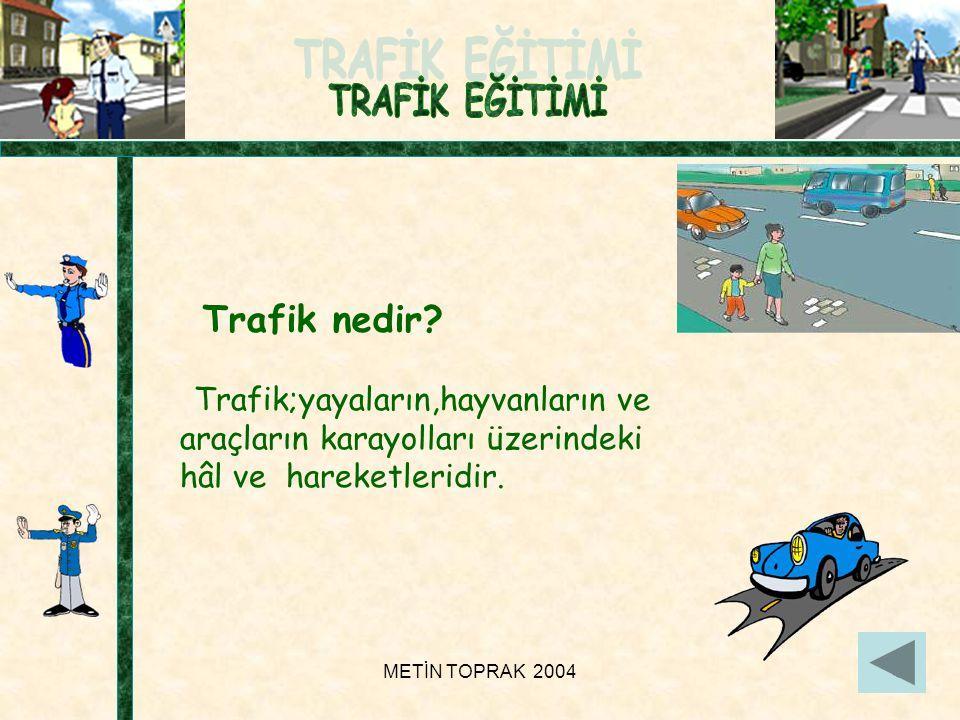 METİN TOPRAK 20048 Trafik nedir.