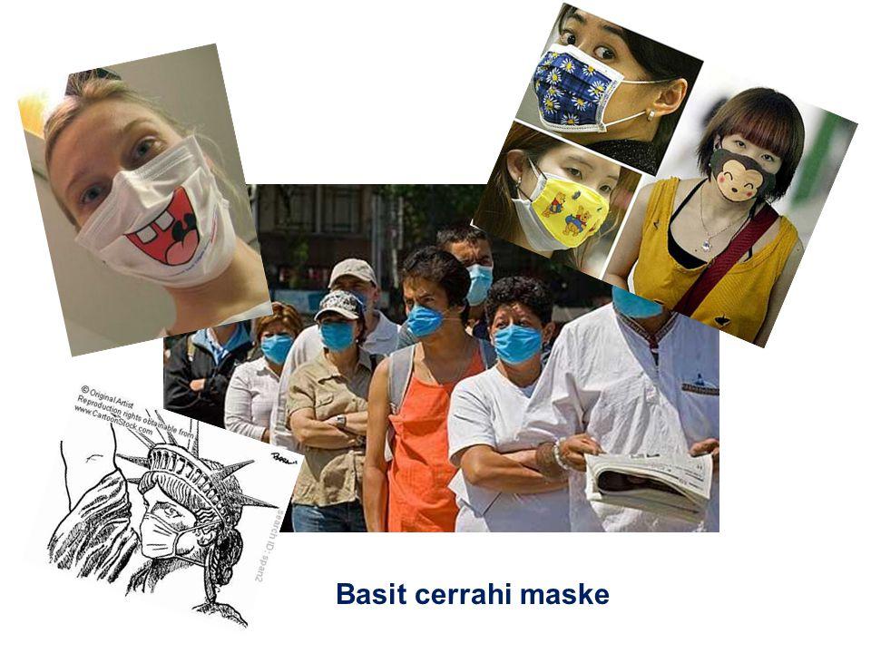 Basit cerrahi maske