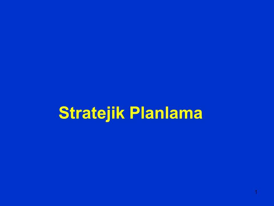 1 Stratejik Planlama