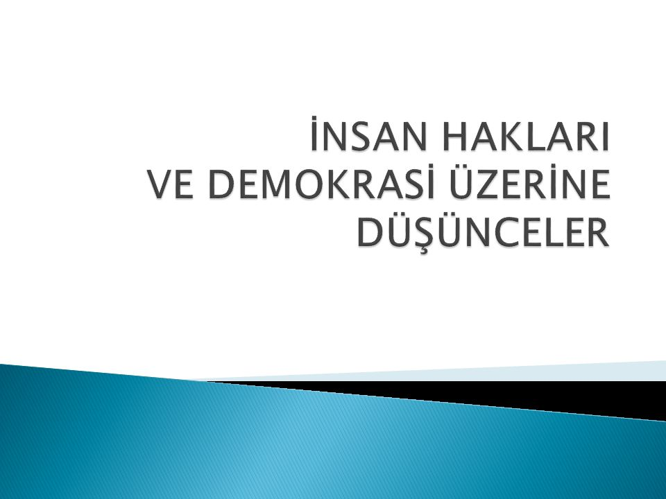 Prof. Dr. M. Oktay ALNIAK42 6. AVRUPA İNSAN HAKLARI SÖZLEŞMESİ