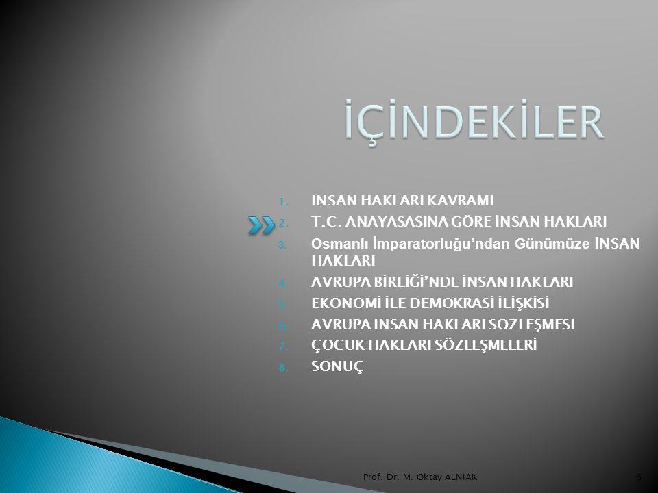 Prof.Dr. M. Oktay ALNIAK57 EVLATLAR  Toplum hayatında analar, babalar ve evlatlar var...