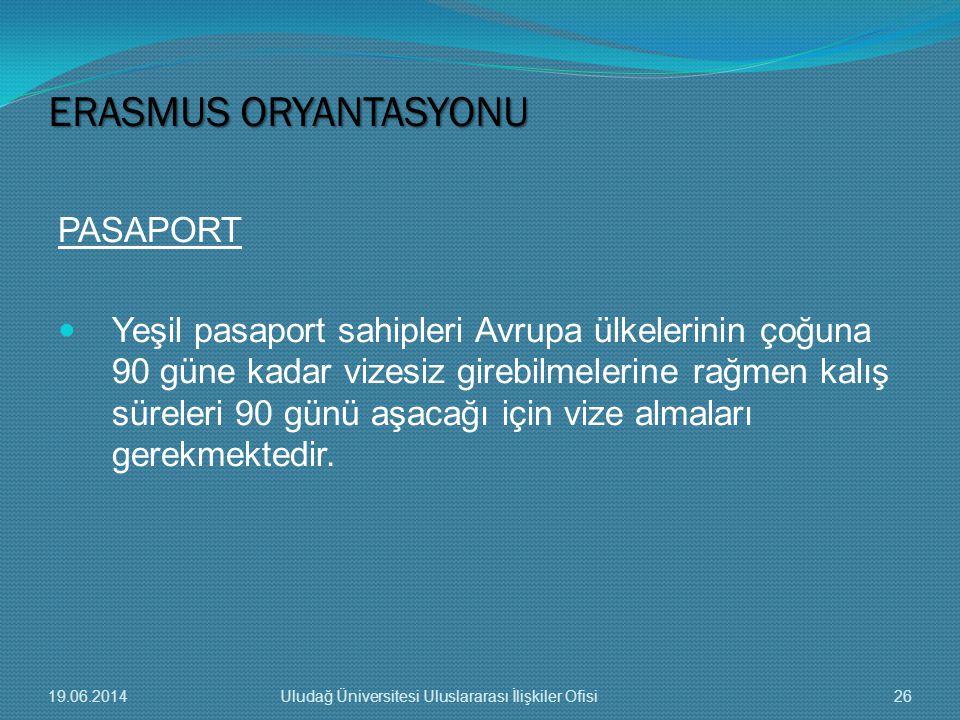 PASAPORT  Yeşil pasaport sahipleri Avrupa ülkelerinin çoğuna 90 güne kadar vizesiz girebilmelerine rağmen kalış süreleri 90 günü aşacağı için vize al