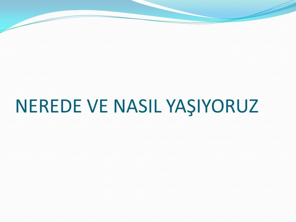 TÜRKİYE'DE NÜFUSUN VE YER- LEŞMENİN DAĞILIŞINI ETKİLE- YEN FAKTÖRLER Türkiye'de nüfusun yöreler ve bölgeler arasında düzensiz dağıldığı görülür.