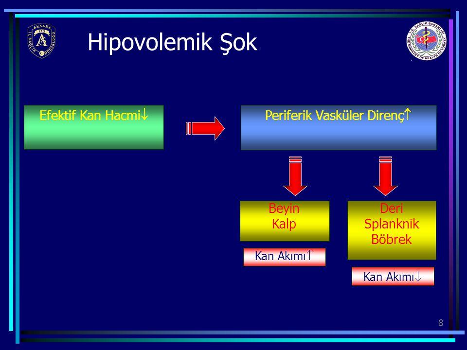 29 Seçenekler (I) •Kristaloidler –0.9 % SF (150 mmol/l NaCL) –5 % Dekstroz –0.18 % SF + 0.45 % Dekstroz –Diğer