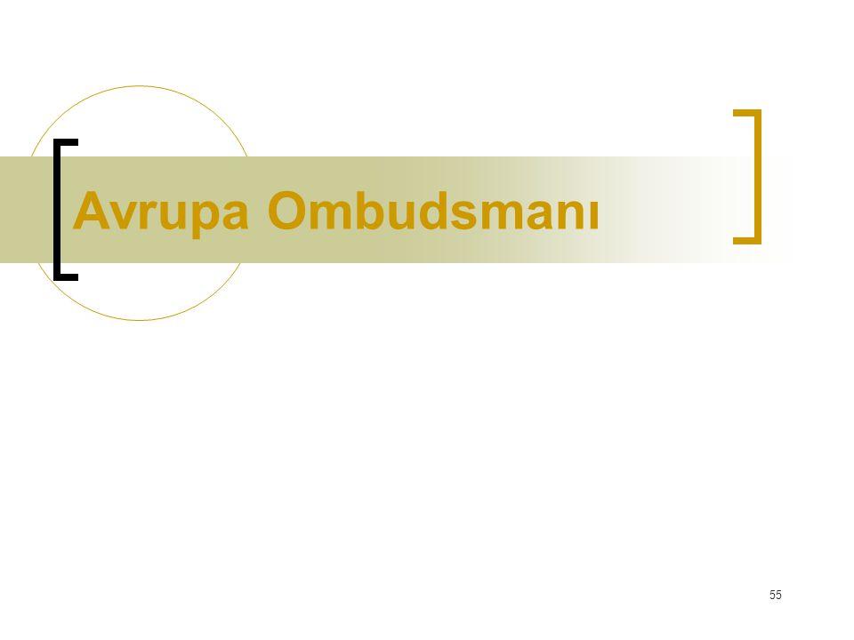 55 Avrupa Ombudsmanı