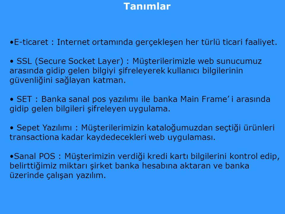 Tarihçe Dünyada e-ticaret çeşitli şekillerde 10 yıldır uygulanıyor. Türkiye' de mazisi 4 –5 yıllık