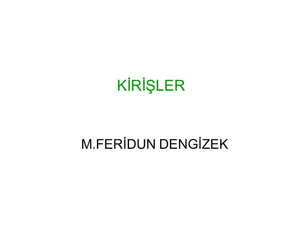 KİRİŞLER M.FERİDUN DENGİZEK