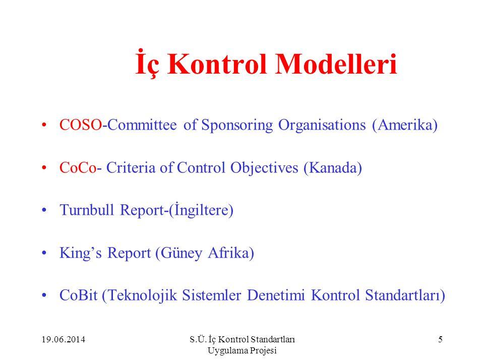 İç Kontrol- Yanılgılar ve Gerçekler Yanılgı 3: •İç kontrol sadece mali bir konudur.