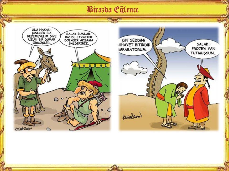 Hunların bilinen ilk hükümdarı Teoman'dır.