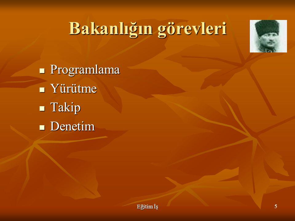 Eğitim İş -  Eğitim teknolojileri genel müdürlüğü 66