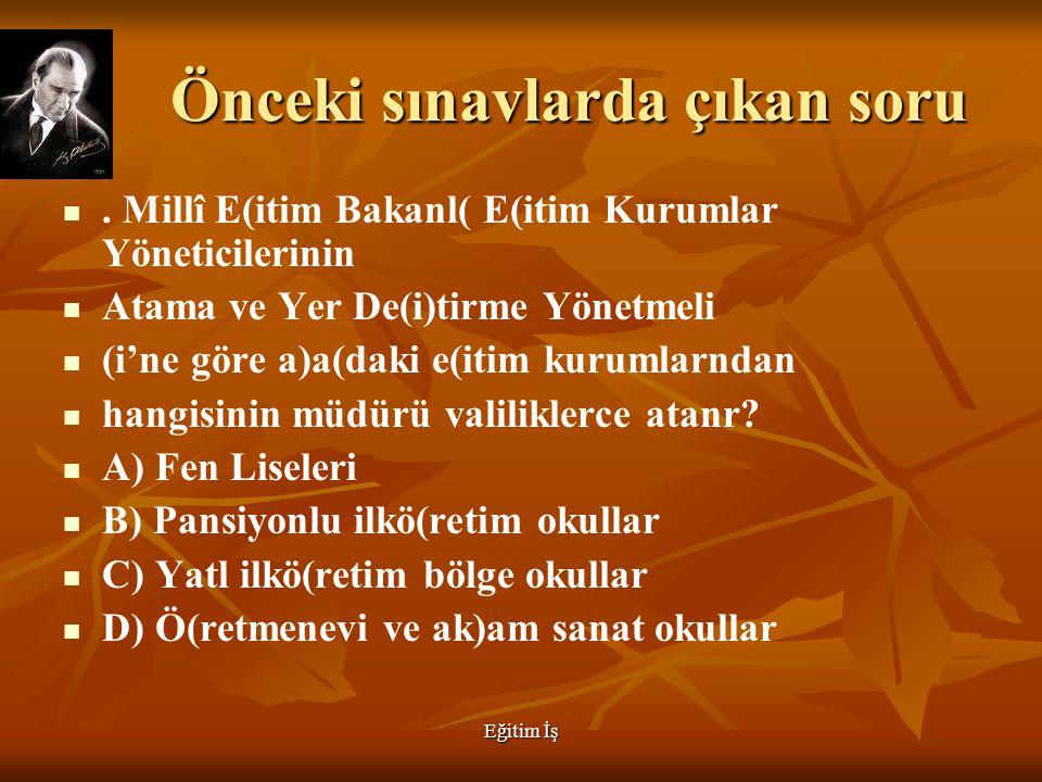 Eğitim İş Bakanlığın görevleri  Türk silahlı kuvvetleri ile işbirliği  Yüksek öğretimle ilgili görev gençliğin barınma beslenme ve maddi yönden desteklenmedir 8